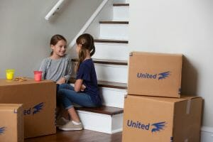 Help with the transition for kids during a move
